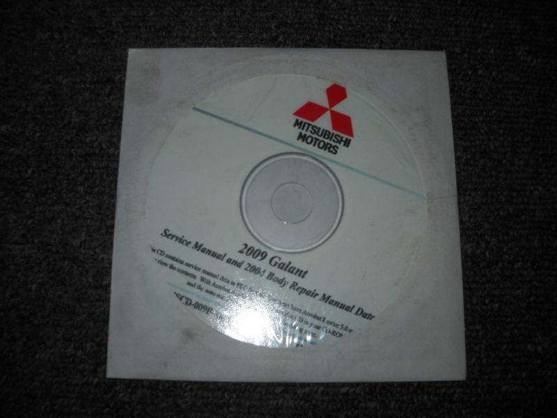 2009 2004 MITSUBISHI GALANT Service Shop Manual CD FACTORY OEM BARGAIN 09 04