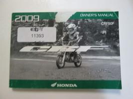 2009 Honda Crf50 F Crf 50 F Owners Manual Factory Oem Book Used Wear Dealership - $10.29