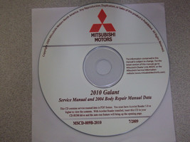2010 2004 MITSUBISHI GALANT Service Shop Manual CD FACTORY OEM BARGAIN 1... - $79.16