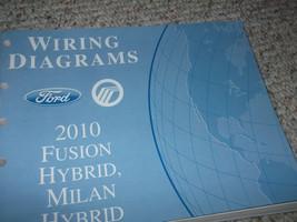 2010 FORD FUSION & MILAN HYBRID Electrical Wiring Diagram Service Manual... - $69.29