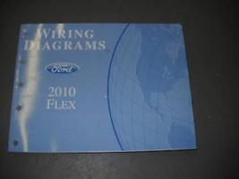 2010 Ford Flex Electrical Wiring Diagram Troubleshooting Shop Manual EWD... - $108.90