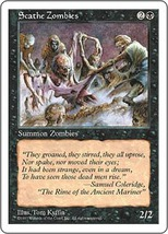 Magic The Gathering-5th Edition-Scathe Zombies - $0.05
