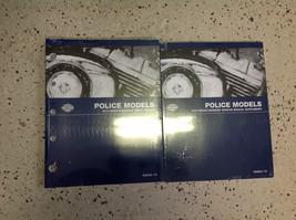 2013 Harley Davidson POLICE MODELS Parts Catalog & Service Manual Supplement - $197.99