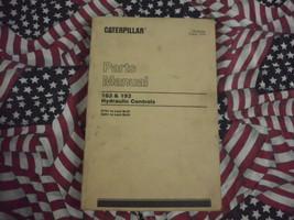 Caterpillar 183 193 Hydraulic Control Part Book 1978 - $14.84