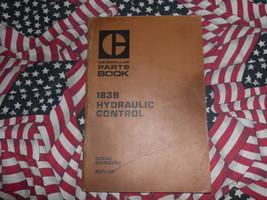 Caterpillar 183B Hydraulic Control Part Book 41V1 1980 - $14.84