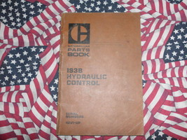 Caterpillar 193B Hydraulic Control Part Book 42V1 & up - $14.84