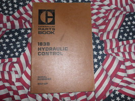 Caterpillar 183B Hydraulic Control Part Book 41V1 & up - $14.84