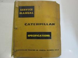 Caterpillar Specifications Book Service Shop Repair Manual BINDER CAT US... - $67.28