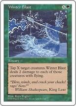 Magic The Gathering-5th Edition-Winter Blast - $0.19