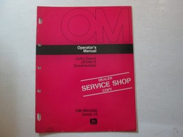 John Deere JD340/S Snowmobile Operator's Manual OM-M65560 DEERE OM OEM  ... - $11.83