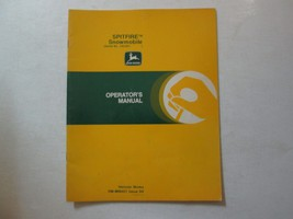John Deere Spitfire Snowmobile Operator's Manual OM-M68421 Issue D9 DEER... - $22.72