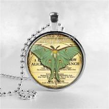 LUNA BUTTERFLY MOTH Necklace, Butterfly Pendant, Butterfly Jewelry, Butt... - $9.95