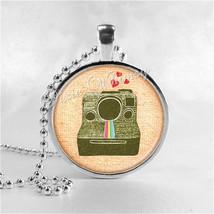 CAMERA Necklace, Camera Pendant, Photographer Jewelry, Photo Pendant Jew... - $9.95