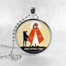 FAIRYTALE Necklace, Once Upon A Time, Fairy Tale Necklace,Little Red Rid... - $9.95