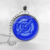 Doctor Who Necklace Art Pendant Jewelry with Ball Chain, Dr Who Necklace... - $9.95