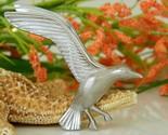 Vintage seagull in flight bird brooch pin giovanni silver tone thumb155 crop