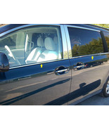 11-18 TOYOTA SIENNA 4dr QAA Stainless 4pcs Window Sill Accent WS11150 - $79.19