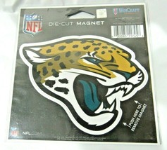 NFL Jacksonville Jaguars 4 inch Auto Magnet Logo by WinCraft - $10.95