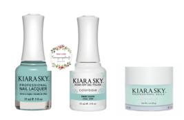 Kiara Sky Trio Set Gel 0.5 oz & Lacquer 0.5 oz & Dip 1 oz 538 Sweet Tooth - $26.99