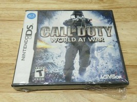 Call of Duty: World at War (Nintendo DS, 2006) New and Sealed - $14.84