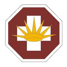 8th Medical Brigade Sticker Military Armed Forces Sticker Decal M80 - $1.45+