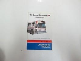 Am Allgemeine Transit Bus Metro Tulsa Transit Authority 9635-6 Betreiber... - $26.71