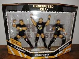 WWE Elite NXT Undiputed Era Adam Cole Kyle O' Reilly Bobby Fish 3 pack - $88.83