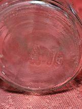 Four Vintage Evenflo Glass Baby Bottles - 8 Ounces With Plastic Caps  image 3