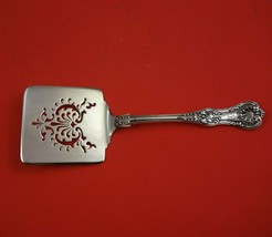 English King by Tiffany and Co Sterling Silver Waffle Server Pierced Flo... - $1,809.00