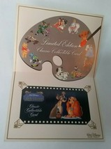 Exclusive Disney Lady and the Tramp Limited Edition Collectible Card Sun... - $19.78