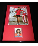 Sarah Palin 11x17 Framed ORIGINAL Decision 2016 Card & Photo Display - $65.09