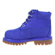 Kids Timberland 6 Inch Premium Waterproof Boot TD Royal Blue TB0A1P6K - $65.28