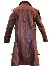 Mens Yondu Guardians of Galaxy Vol 2 Michael Rooker Brown Costume Coat image 4