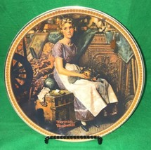 Norman Rockwell Dreaming in The Attic Collector Plate 1st Issue Edwin M ... - $14.01