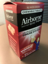 Airborne Berry Chewable Tablets, 96 count - 1000mg of Vitamin C - Immune... - $18.00