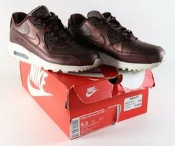Womens Air Max 90 Prime Metallic Mahogany Sneakers Athletic Shoes Size 8.5 - $38.63
