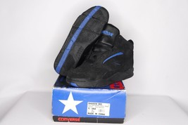 Vintage 90s New Converse Youth 5.5 Shadow Mid Leather Basketball Shoes B... - $49.85