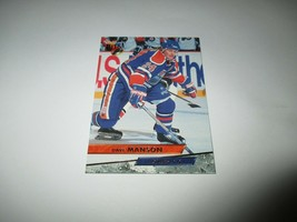1993 Fleer Ultra Dave Manson #93 - Additional Cards Ship FREE!!!! - $0.99