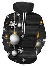 Snowflake Christmas Ball Pri color BLACK size XL - $32.83