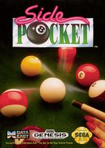 Side Pocket Sega Genesis Video Game - $11.97