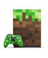 NEW Xbox One Console System S 1TB Minecraft Limited Edition Microsoft XO... - $595.98