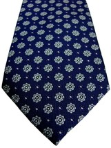 MARKS & SPENCER M&S AUTOGRAPH Tie Purple - White Flowers SKINNY NEW BNWT - $24.60