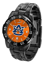 Auburn Tigers Mens Watch Fantom Gunmetal Finish Team Color Dial - $67.50