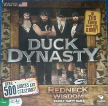 Duck Dynasty Redneck Wisdom Trivia Board Game Hunting Tv Show Man Cave Happy - $9.85