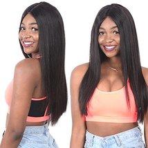 """Mink 8A Brazilian Virgin Hair Straight Remy Human Hair 3 Bundles Deals 12"""" 14"""" 1 image 2"""
