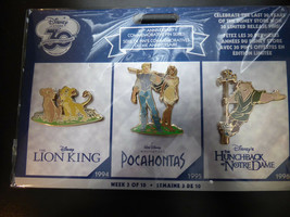 Disney Trading Pins 120329 DS - 30th Anniversary Commemorative Pin Series - Week - $60.78