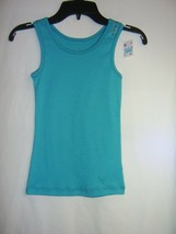Justice Tank Top Nwt Size 6 Color Turquoise - $8.00