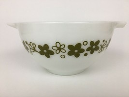 Pyrex Spring Blossom Mixing Bowl 441 Crazy Daisy Cinderella 1.5 PT Pint ... - $12.82