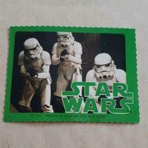 1978 Meiji Star Wars Stormtrooper Chocolate Bonus Seal vintage Rare - $89.80