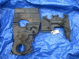 99-00 Honda Civic SIR B16A2 upper and lower timing cover set engine moto... - $129.99